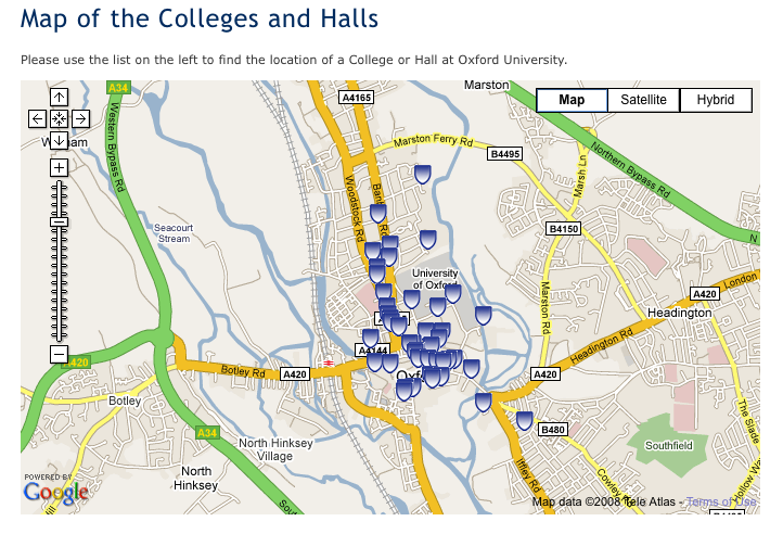 university geolocation Oxford Erewhon Project Blog
