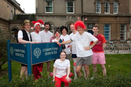 Red Nose Day Run Team