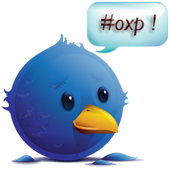 Tweeter tweeting #oxp